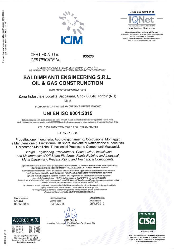 Company | Page 4 | SALDIMPIANTI ENGINEERING SRL